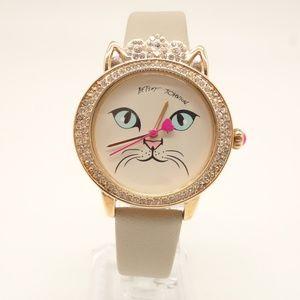 NEW BETSEY JOHNSON Cat Watch BJ00669-01BX 💋